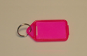 XL Coloured Plastic Key Tag