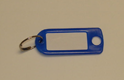 Coloured Plastic Key Tag