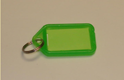 Large Coloured Plastic Key Tag